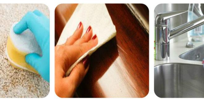أخطاء شائعة في تنظيف المنازل