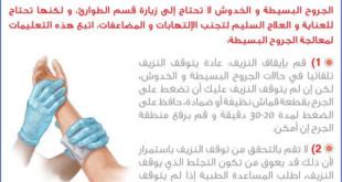 الاسعافات الاولية للجروح